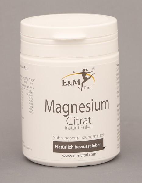 E&M Magnesiumcitrat Pulver